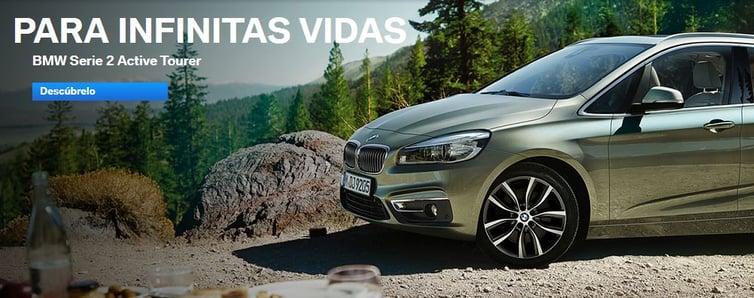 Call to action efectivo de BMW