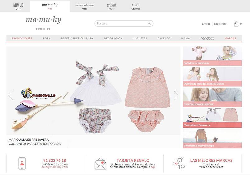 Página web de Mamuky
