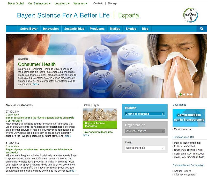 Laboratorios Farmacéuticos Bayer